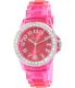 Geneva Platinum Women's 3216.PINK Pink Plastic Quartz Watch - Main Image Swatch