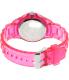 Geneva Platinum Women's 3216.PINK Pink Plastic Quartz Watch - Back Image Swatch