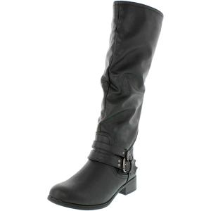 Xoxo Women's Marcel Knee-High Synthetic Boot