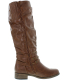 Xoxo Women's Markel Knee-High Synthetic Boot - Side Image Swatch