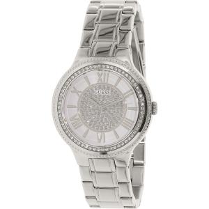Guess Women's U0637L1 Silver Stainless-Steel Quartz Watch