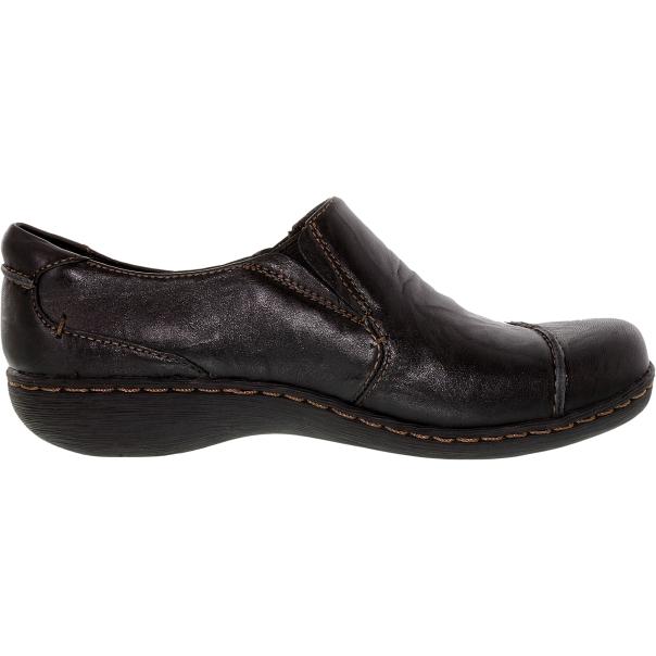 clarks s fianna carlie ankle high leather flat shoe