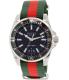 Gucci Men's Dive YA136206 Silver Nylon Swiss Quartz Watch - Main Image Swatch