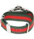 Gucci Men's Dive YA136206 Silver Nylon Swiss Quartz Watch - Back Image Swatch
