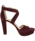 Vince Camuto Women's Shayla Suede Ankle-High Suede Pump - Side Image Swatch