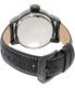 Invicta Men's Rally 19619 Black Leather Quartz Watch - Back Image Swatch