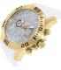 Invicta Men's Pro Diver 20296 White Silicone Quartz Watch - Side Image Swatch