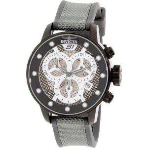 Invicta Men's Rally 19622 Black Silicone Quartz Watch