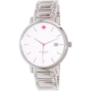 Kate Spade Women's Gramercy 1YRU0008 Silver Stainless-Steel Quartz Watch