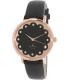 Kate Spade Women's Metro 1YRU0583 Black Leather Quartz Watch - Main Image Swatch