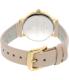 Kate Spade Women's Metro 1YRU0586 Peach Leather Quartz Watch - Back Image Swatch