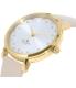 Kate Spade Women's Metro 1YRU0586 Peach Leather Quartz Watch - Side Image Swatch