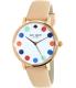 Kate Spade Women's Metro 1YRU0735 Beige Leather Quartz Watch - Main Image Swatch
