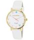 Kate Spade Women's Metro 1YRU0765 White Leather Quartz Watch - Main Image Swatch