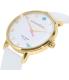 Kate Spade Women's Metro 1YRU0765 White Leather Quartz Watch - Side Image Swatch