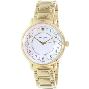 Kate Spade Women's Gramercy 1YRU0789 Gold Stainless-Steel Quartz Watch