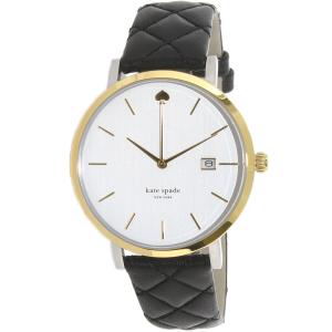 Kate Spade Women's Metro 1YRU0125 Black Leather Quartz Watch