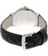 Kate Spade Women's Metro 1YRU0125 Black Leather Quartz Watch - Back Image Swatch