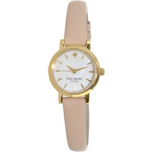 Kate Spade Women's Tiny Metro 1YRU0372 Beige Leather Quartz Watch