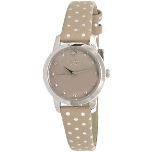 Kate Spade Women's Mini Metro 1YRU0891 Beige Leather Quartz Watch