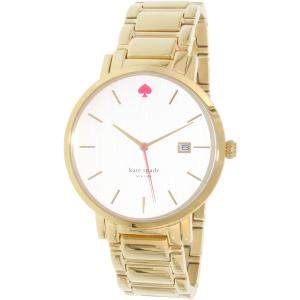 Kate Spade Women's Gramercy Grand 1YRU0009 Gold Stainless-Steel Quartz Watch
