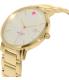 Kate Spade Women's Gramercy Grand 1YRU0009 Gold Stainless-Steel Quartz Watch - Side Image Swatch