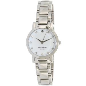 Kate Spade Women's Gramercy Mini 1YRU0146 Silver Stainless-Steel Quartz Watch