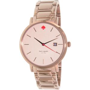 Kate Spade Women's Gramercy Grand 1YRU0641 Rose Gold Stainless-Steel Quartz Watch