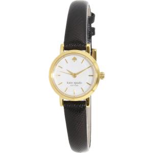 Kate Spade Women's Tiny Metro 1YRU0536 Black Leather Quartz Watch