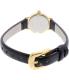 Kate Spade Women's Tiny Metro 1YRU0536 Black Leather Quartz Watch - Back Image Swatch