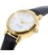 Kate Spade Women's Tiny Metro 1YRU0536 Black Leather Quartz Watch - Side Image Swatch