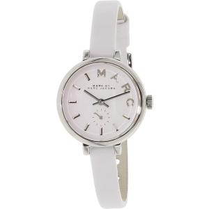 Marc by Marc Jacobs Women's Sally MBM1350 White Leather Quartz Watch