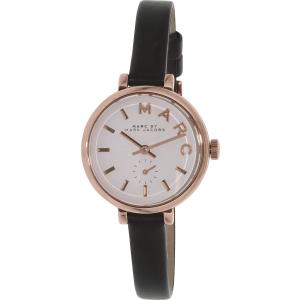 Marc by Marc Jacobs Women's Sally MBM1352 Black Leather Quartz Watch