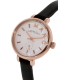 Marc by Marc Jacobs Women's Sally MBM1352 Black Leather Quartz Watch - Side Image Swatch
