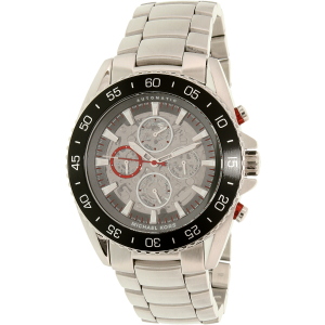 Michael Kors Men's MK9011 Silver Stainless-Steel Automatic Watch