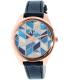 Armani Exchange Women's AX5525 Blue Leather Quartz Watch - Main Image Swatch
