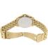 Armani Exchange Women's AX5527 Gold Stainless-Steel Quartz Watch - Back Image Swatch