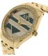 Armani Exchange Women's AX5527 Gold Stainless-Steel Quartz Watch - Side Image Swatch