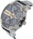 Diesel Men's Mr. Daddy DZ7348 Black Leather Quartz Watch - Side Image Swatch