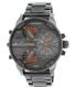 Diesel Men's Mr. Daddy DZ7315 Gunmetal Stainless-Steel Quartz Watch - Main Image Swatch