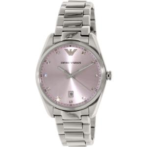 Emporio Armani Women's Tazio AR6063 Silver Stainless-Steel Quartz Watch