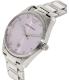 Emporio Armani Women's Tazio AR6063 Silver Stainless-Steel Quartz Watch - Side Image Swatch