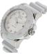 Emporio Armani Men's AR6085 Silver Resin Quartz Watch - Side Image Swatch
