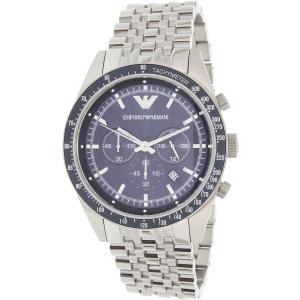 Emporio Armani Men's Tazio AR6072 Silver Stainless-Steel Quartz Watch