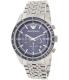 Emporio Armani Men's Tazio AR6072 Silver Stainless-Steel Quartz Watch - Main Image Swatch