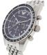 Emporio Armani Men's Tazio AR6072 Silver Stainless-Steel Quartz Watch - Side Image Swatch