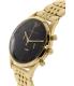 Emporio Armani Men's Beta AR1893 Gold Stainless-Steel Quartz Watch - Side Image Swatch