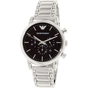Emporio Armani Men's Luigi AR1894 Silver Stainless-Steel Quartz Watch