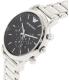 Emporio Armani Men's Luigi AR1894 Silver Stainless-Steel Quartz Watch - Side Image Swatch