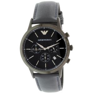 Emporio Armani Men's AR2481 Blue Leather Quartz Watch